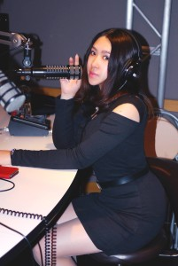 RISA in the radio studio