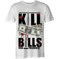 Kill Bills T- Shirt (White) S/M/L