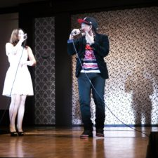 Risa & Roro Perform at the Beauty March'e Fashion show