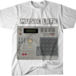 Music Life Drum Machine t-shirt