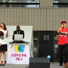 Roro x Risa Kumon perform at LoveFm Beer Fest