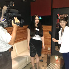 Risa Kumon Television interview